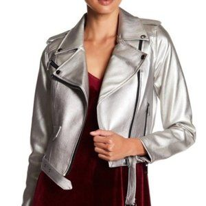 New Romeo & Juliet Couture Faux Leather Jacket
